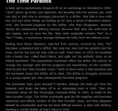 The big paradox in time…