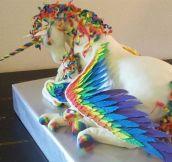 Unicorn cake…