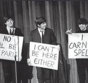 Beatle humor…