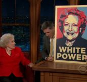 Betty White at her finest…