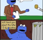 Rise and fall of the Cookie Monster…