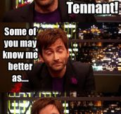 David Tennant's alter ego…
