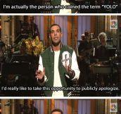 Drake's apology…