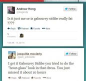 Gabourey Sidibe responds to her twitter trolls…