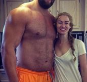 That's why they call him The Mountain that Rides…