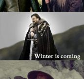 Gandalf, winter is coming…