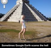 Scary Google earth…