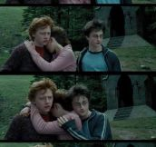 Shoo, Harry…
