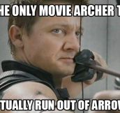 The only true archer…
