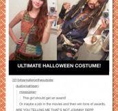 Ultimate Halloween costume…