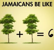 Jamaican maths…