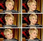 I love her for this reason…