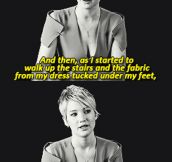 Jennifer Lawrence talks about her fall at the Oscars…