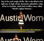 Lizzie Velasquez is a role model…