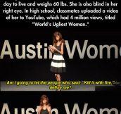 Lizzie Velasquez is a role model…