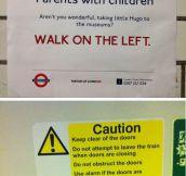 Fake London Underground signs…