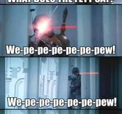 What does the Fett say?
