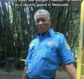 The Venezuelan Morgan Freeman…