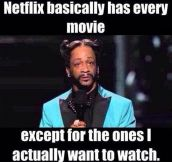 How Netflix usually works…
