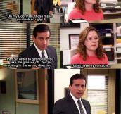 Oh, Michael…