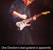 One Direction's talent…