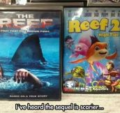 Sequels are always different…