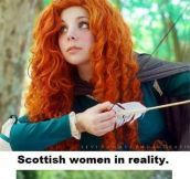 Scottish women…