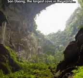 Biggest cave in the world…