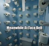 Taco Bell is prepared…