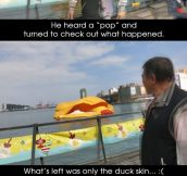 Death of the Rubber Duck…