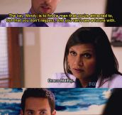 The Mindy project…