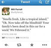 Smells fresh…