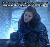 Maybe Jon Snow knows one thing…