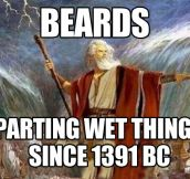 Beards rule…