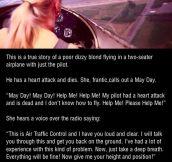 A true story of a poor dizzy blond…
