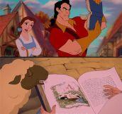 No one's blind like Gaston…