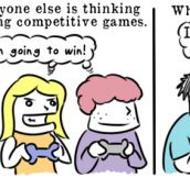 Competitive games…