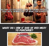 The carnivorous world we live in…
