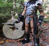 My skyrim cosplay…