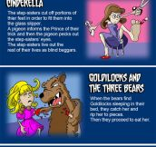 Original Fairy Tales endings…