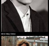 When famous people were young…