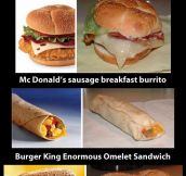 Fast food: truth vs. advertising…