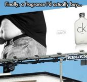 A fragrance for the regular guy…
