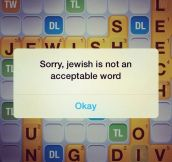 Sorry, not an acceptable word…