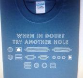 Tech Club shirt…