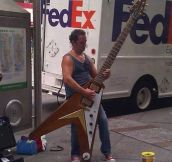 You know what they say about guys with big guitars…
