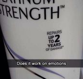 Powerful shampoo…