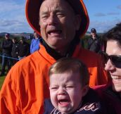 He met Bill Murray…