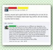 I need birthday party ideas…