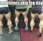 When your calves become cows…